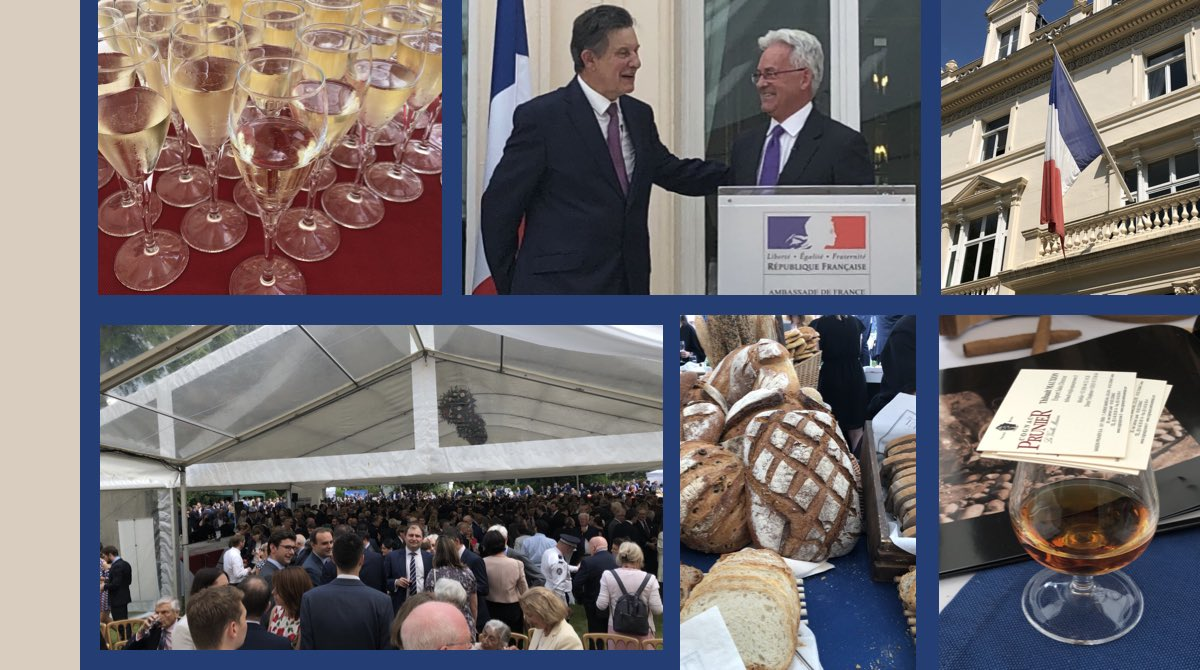 test Twitter Media - Wishing Amb & Mme Jouyet & friends at @FranceintheUK a fab #14Juillet & thank you for a superb garden party - a packed marquee of friends to bid farewell to Amb & Mme Jouyet. Our best wishes for you new post to the #OECD. Vive La #France et l'alliance Franco-Britannique!🇫🇷🇬🇧 https://t.co/vBu8Dxgjwp