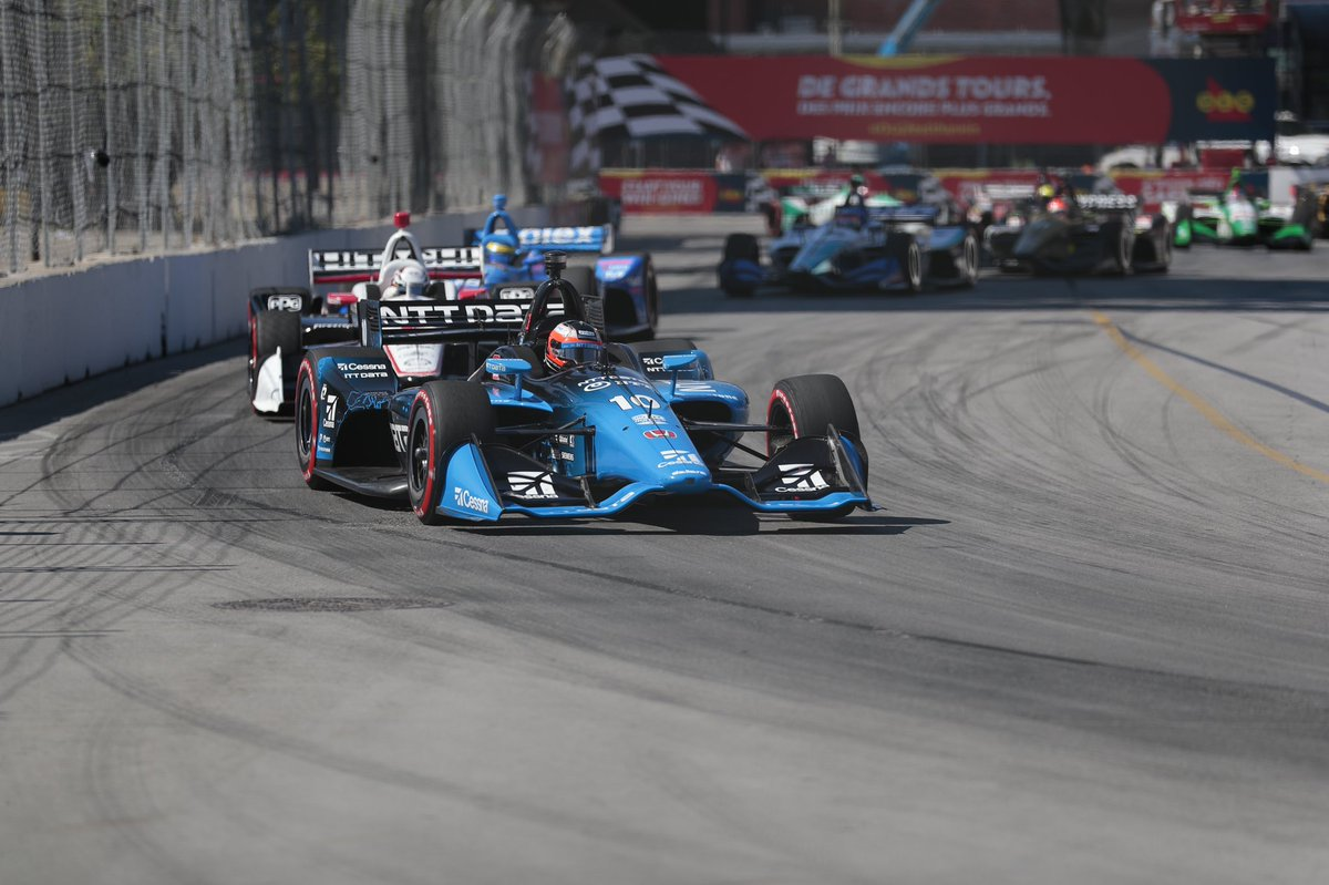 P5 today, feels good to score some good results - but after the weekend we've had I would call it a very average race. Good job to all the @CGRTeams crew, lets keep this momentum going! #p5 #Toronto #NTTDataRacing #Cessna
