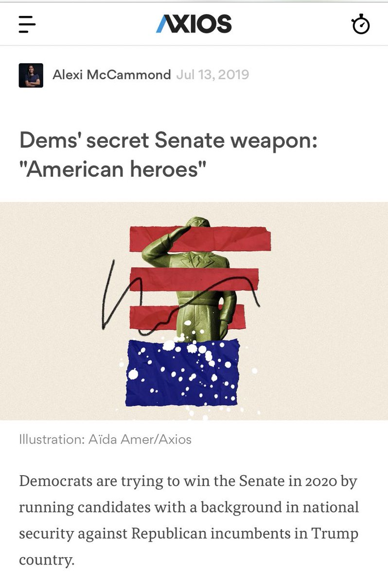 You know what Dem leadership hasn't tried? Beating the GOP at performative troops respecting