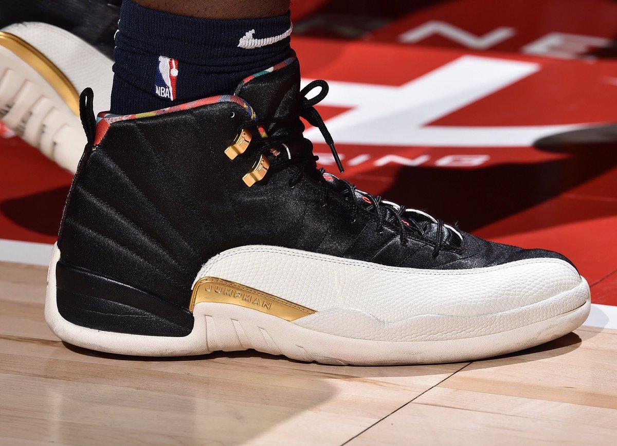 "#NBASummer #NBAKicks   @Zionwilliamson rocks the ""CNY"" Jordan XII at the @NBASummerLeague in Las Vegas!"