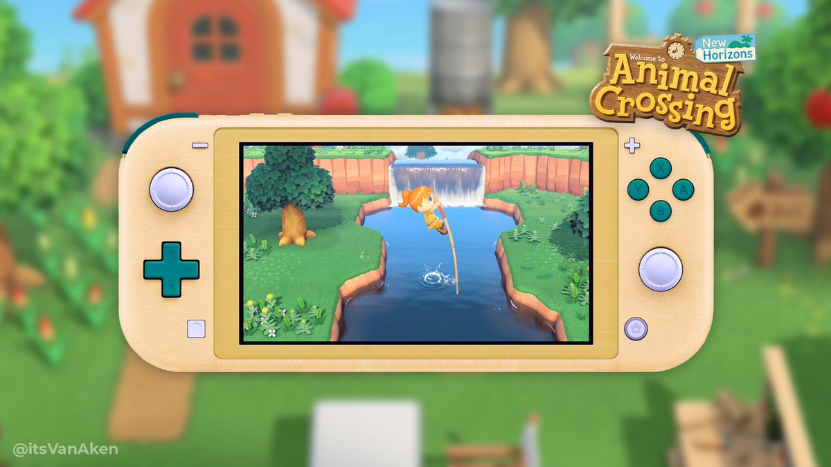 Since the Nintendo Switch Lite, fans have been creating plenty of Animal Crossing custom designs! Here's a few of the ones we've seen so far -- which is your favorite? #AnimalCrossing