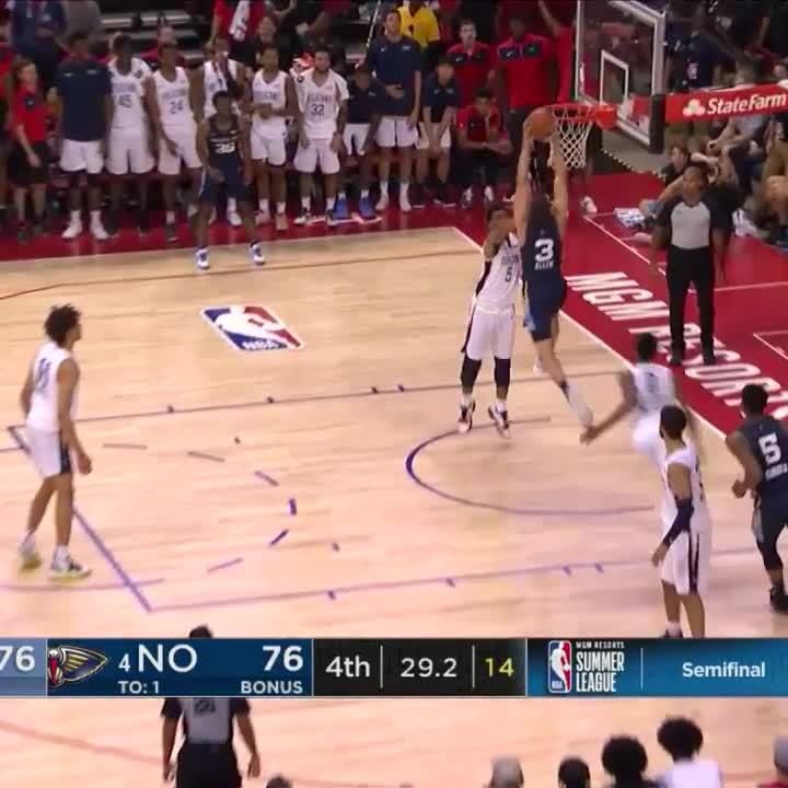 Grayson Allen 😳  #NBASummer