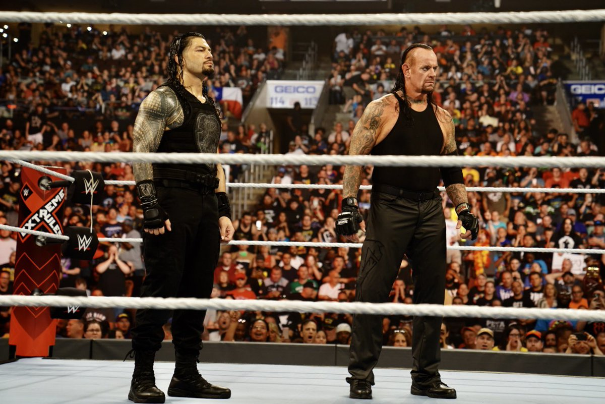 @WWERomanReigns's photo on #extremerules