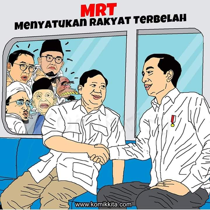 Pesan dari karikatur ini adalah ...