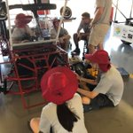 Image for the Tweet beginning: Solar Car Challenge day 2: