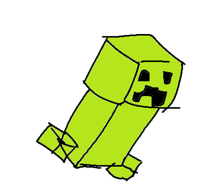 @kaylabtsarmy @DaftLimmy ARMY represent, here is my creeper i drew