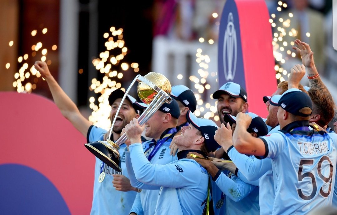 It's been an amazing journey for me in this World cup,I feel so proud being a part of this Champion side @englandcricket what a sensational final -never witnessed such a game like this @cricketworldcup Hard luck to @BLACKCAPS Cricket has certainly won #ENGvsNZ #CWC19Final @ICC 🏴󠁧󠁢󠁥󠁮󠁧󠁿
