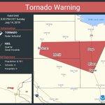 Image for the Tweet beginning: Tornado Warning including Milaca MN,