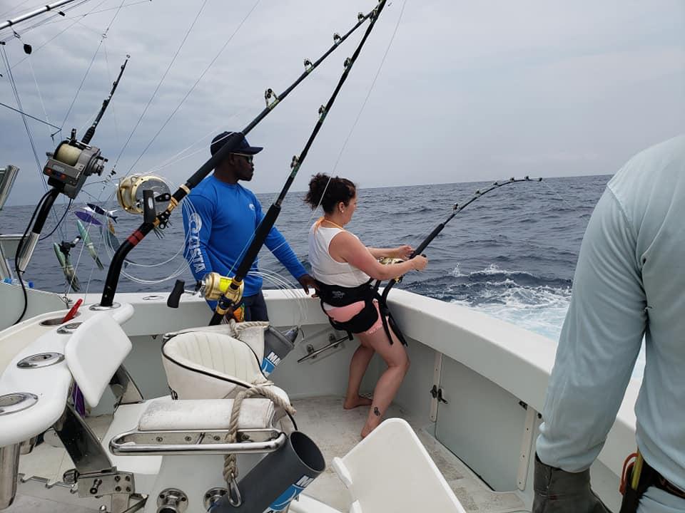 Principe Island - Deceiver went 2-2 on Blue Marlin.