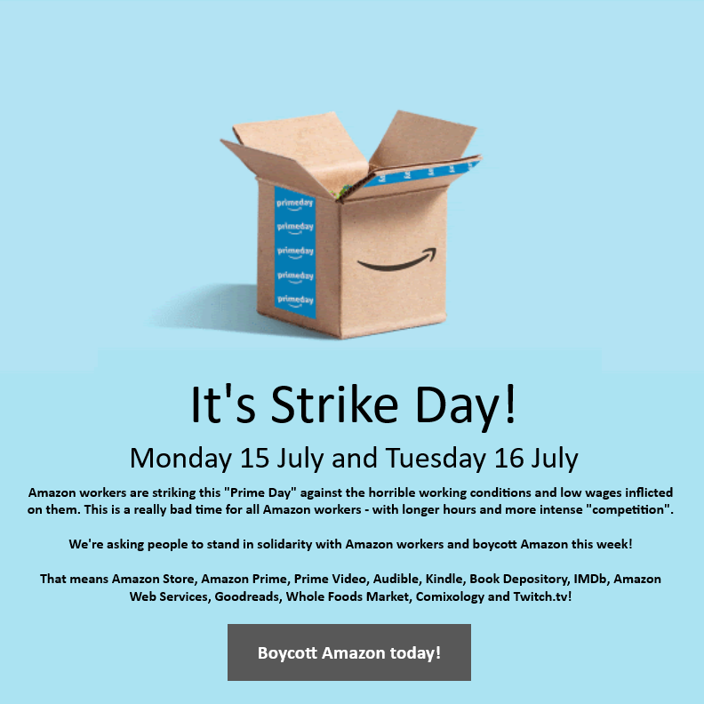 @Picketer's photo on Prime Day