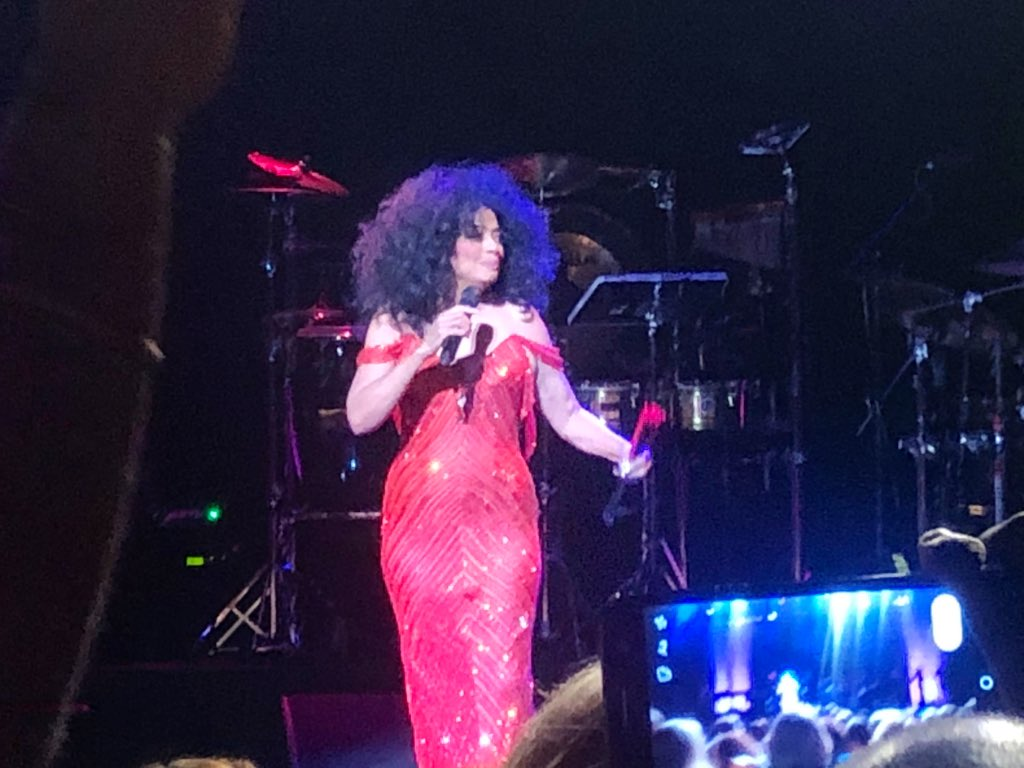 Name a more fabulous woman. I'll wait.  The GOAT, Diana Ross.  #MamaSharkConcertSeries<br>http://pic.twitter.com/F0LmQ2R2Il