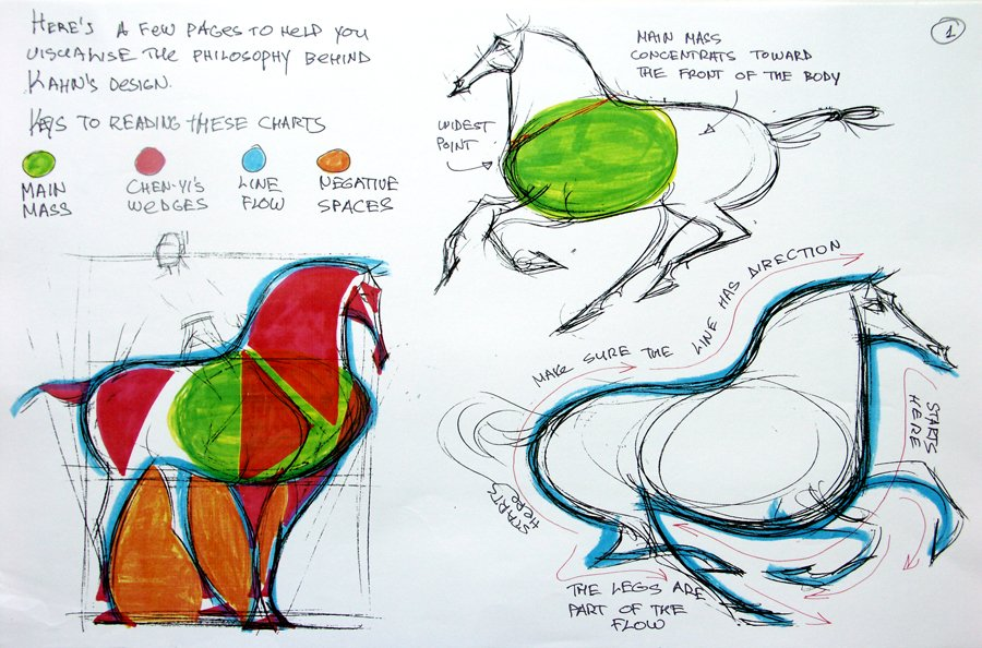 Chen Yi Chang's design approach is sheer perfection to me, Mulan was such a visually well coordinated film.  This is dynamic horse drawing 101 to me!