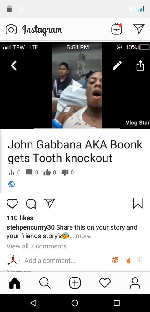 Bruh someone knock his tooth right off!! 😱😂😂💪#boonk #gangang #stealing #shit #johngabbana #johnboonk  Y'all think he deserves it?