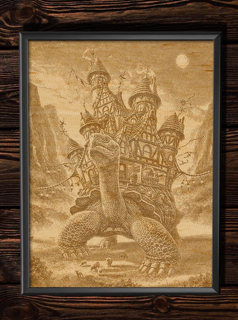 выжигание по дереву картинки славянские галкин