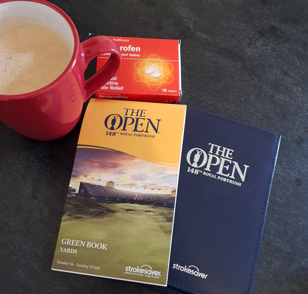 The Open week is here, which means study with breakfast!