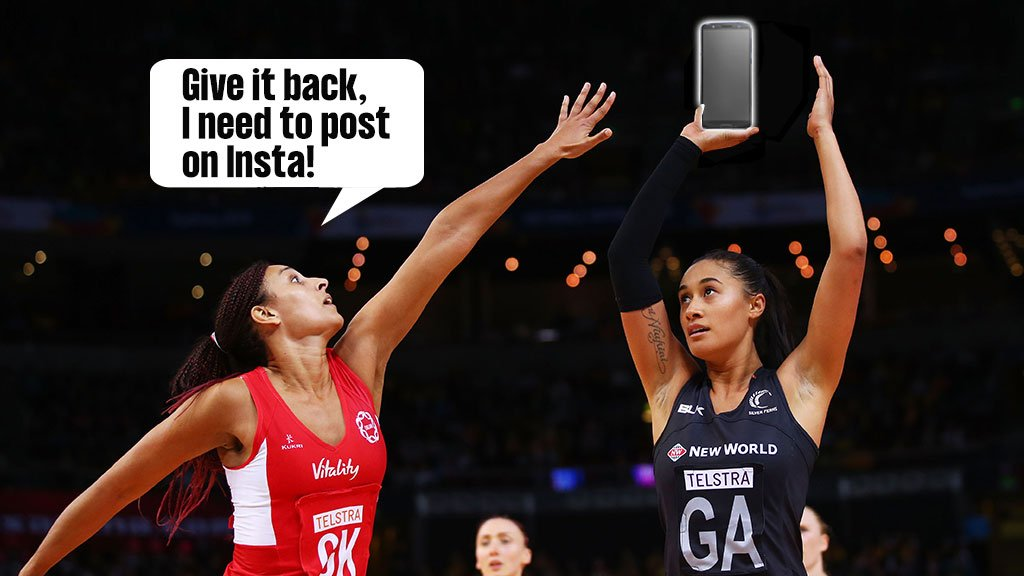 Start your week with a QUIZ 😀Answer these 7 questions about your phone habits and we will determine which #netball position you're best suited to...PLAY NOW 👉http://bbc.in/2LMPWtM #ThisIsNetball #NWC2019 #GetInspired