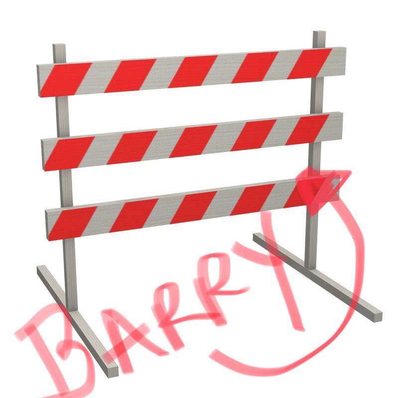 Great news, we have removed all the #BarryCADES #TropicalStormBarry <br>http://pic.twitter.com/bs9LP89a2f