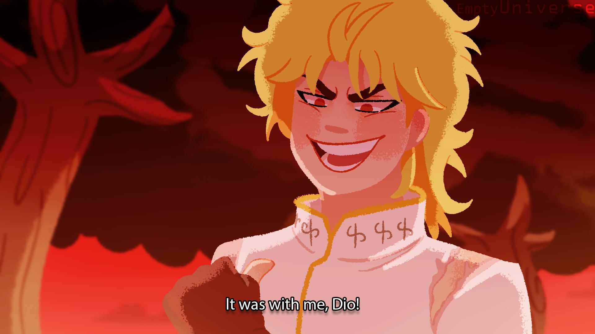 Emptyuniverse Haru On Twitter Episode 1 Dio The Invader