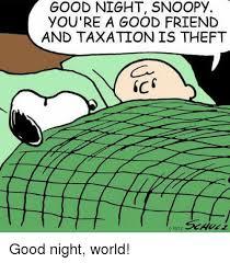 Good night, everyone!  #TaxationIsTheft  <br>http://pic.twitter.com/25IyXt1Cn7