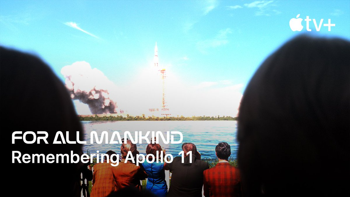 Replying to @AppleTV: Remembering #Apollo11 with the Executive Producers of #ForAllMankind, coming this fall to Apple TV+.