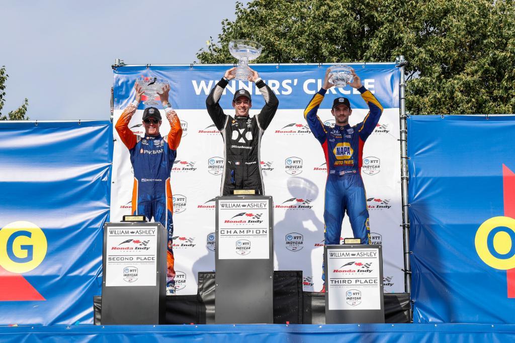 #INDY インディカー・シリーズ第11戦が唯一のアメリカ国外レースとして、カナダのトロントで開催されました。ディクソン選手が2位、ロッシ選手が3位。ロッシ選手はランキングではトップからわずか4ポイント差の2位となりました。 レポートはこちらから→ http://spr.ly/6012EvFcC #ホンダモースポ