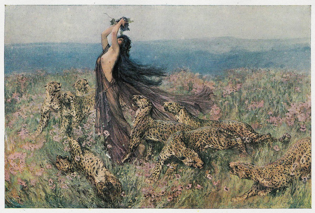 "Arthur Wardle (1860-1949), 'Bacchante', ""The Studio"", 1911"