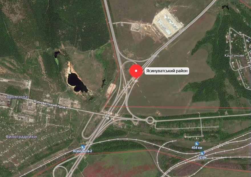 Обстрел позиции 11-го ОМСП УНМ ДНР