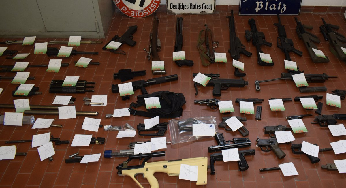 Italy police detain 3 with guns, a missile and Nazi memorabilia in probe of far-right links to Ukraine war today
