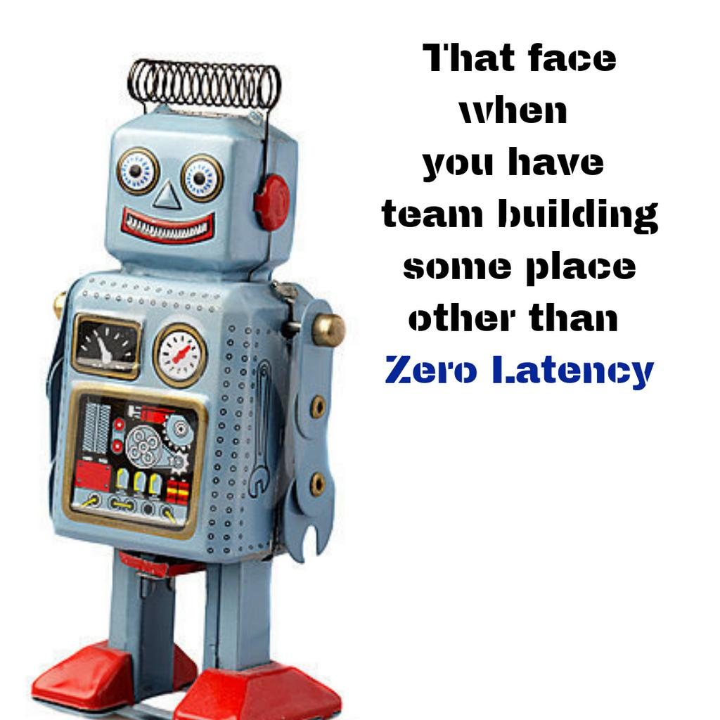 Team building is just not as cool anywhere other than Zero Latency.  🤷♂️ Come visit us for your next corporate event, outing, or retreat.  🤖🧟♀️🤖🧟♀️🤖🧟♀️🤖🧟♀️🤖🧟♀️🤖#mondaymotivation #motivation #mixedreality #augmentedreality #vr