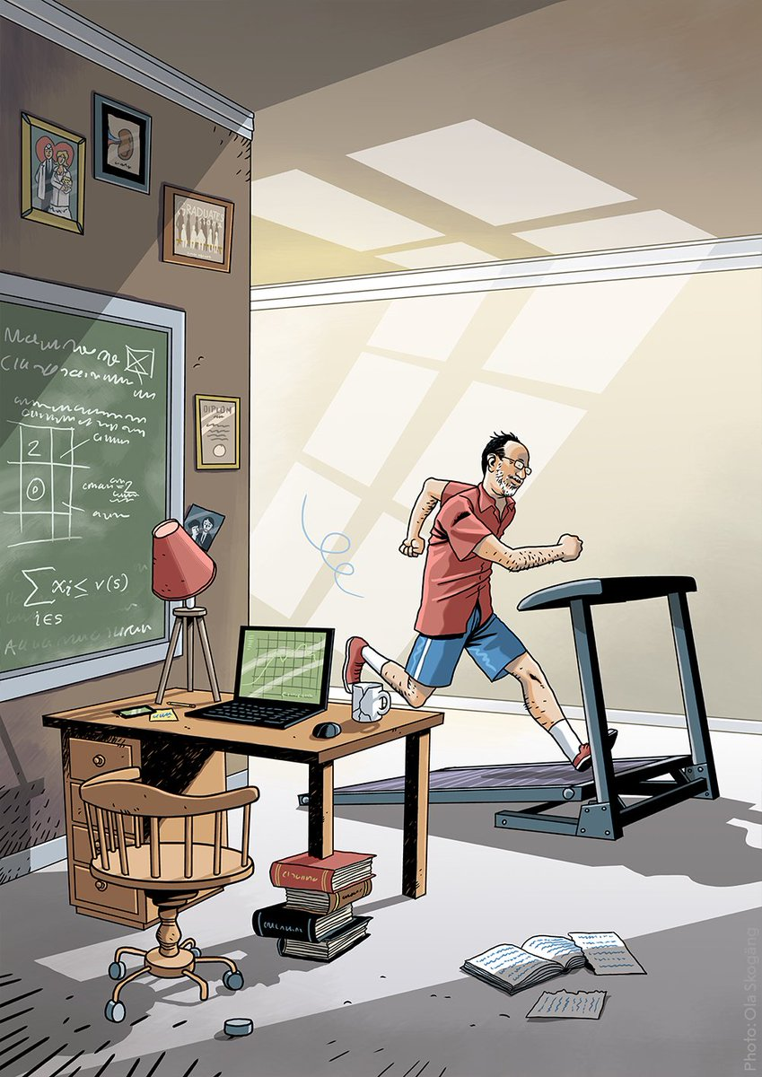 When do you feel inspired and get your most creative ideas?  Nobel Laureate Alvin Roth sees problems around him that he wants to fix. For a while, he worked passionately to improve school election systems. Roth gets many of his ideas whilst running on a treadmill.