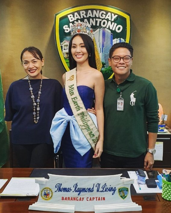 Miss Philippines Earth 2019 Janelle Tee is in the house