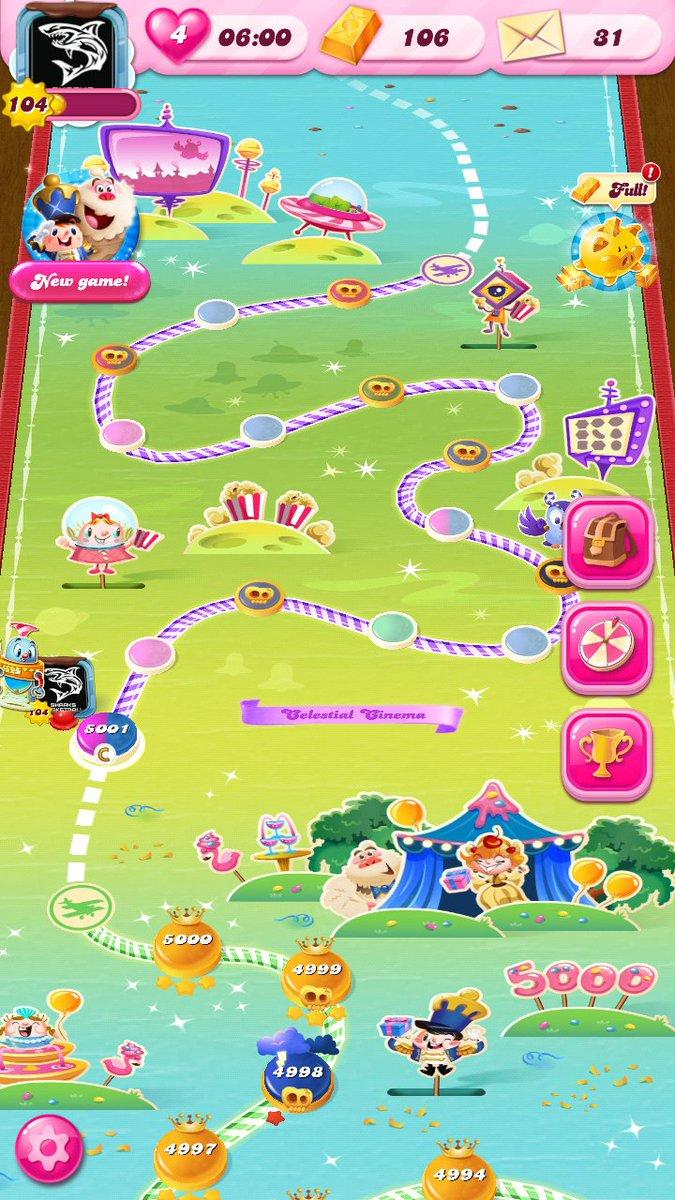 #CandyCrushSaga Level 5000 ✅