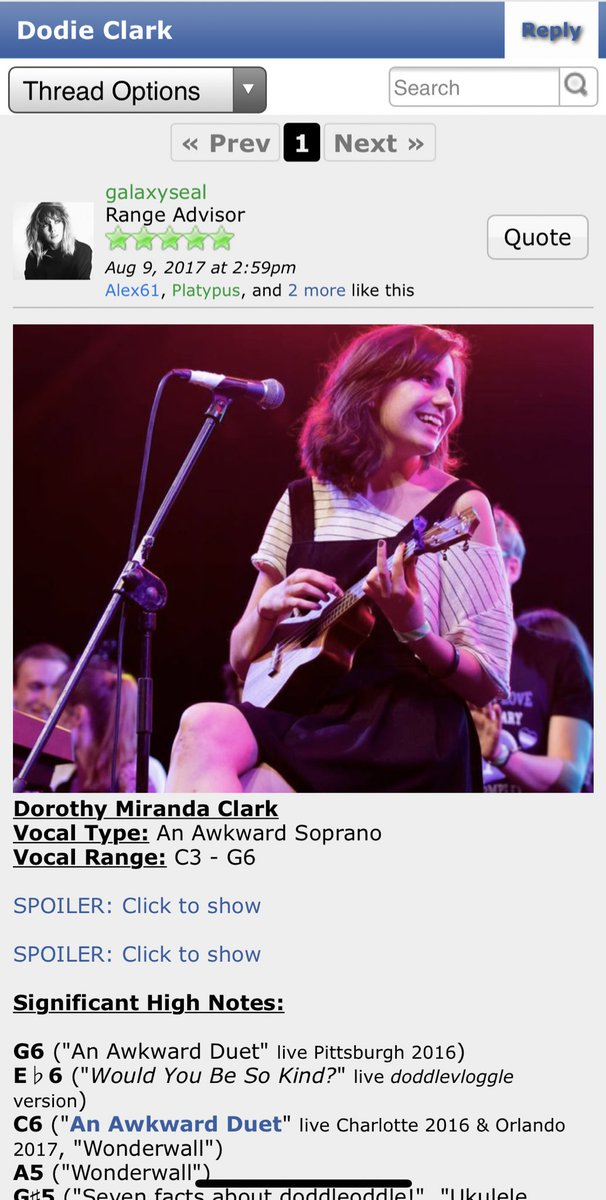 """Didn't know there was a vocal type """"an awkward soprano"""" @doddleoddle<br>http://pic.twitter.com/ATIaoecqaA"""