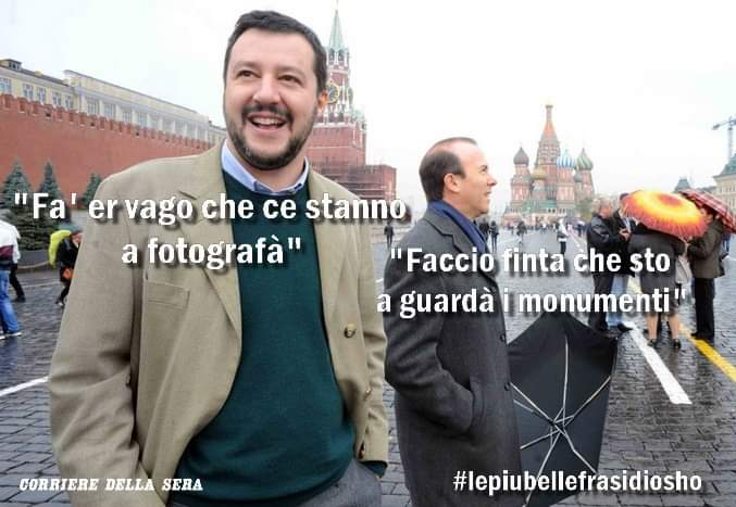 #Russiagate #savoini #Salvini
