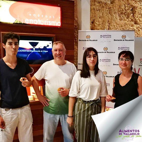 Hay quien ha tenido un fin de semana muy dulce y muy de la provincia en su visita al Museo del Vino. ¡Valladolid siempre tiene premio! #AlimentosdeValladolid #alimentos #valladolid #dulces #museodelvino #comida #valladolidsecome #findesemanadulce #degustacióndedulces #enoturismo