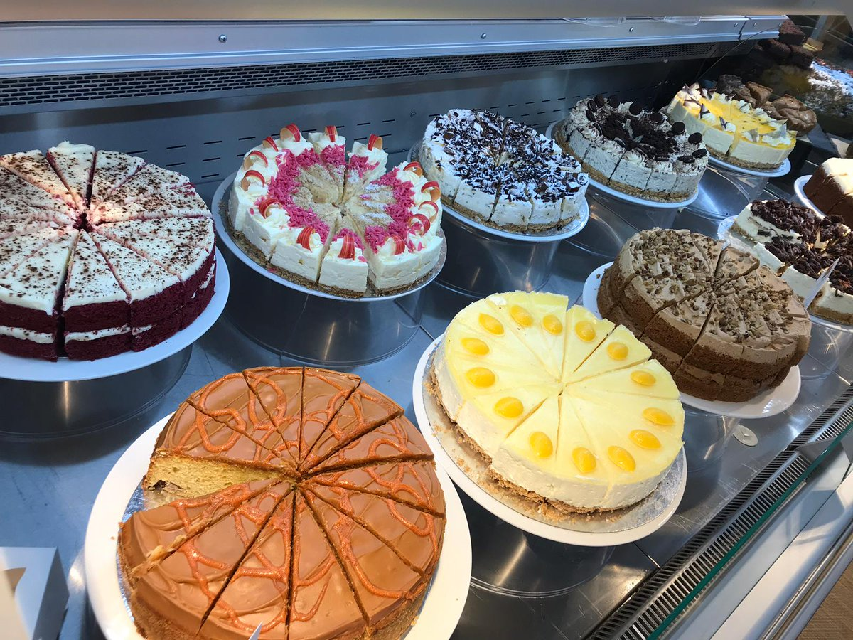 Cake on a Monday. Yes please! Put the kettle on. #cake #delicioustreats #starttheweek #Variety