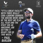 Image for the Tweet beginning: Some high praise for @TPC_Toronto