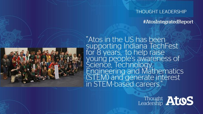 Atos in the US is the leading sponsor for TechFest. A major event that...