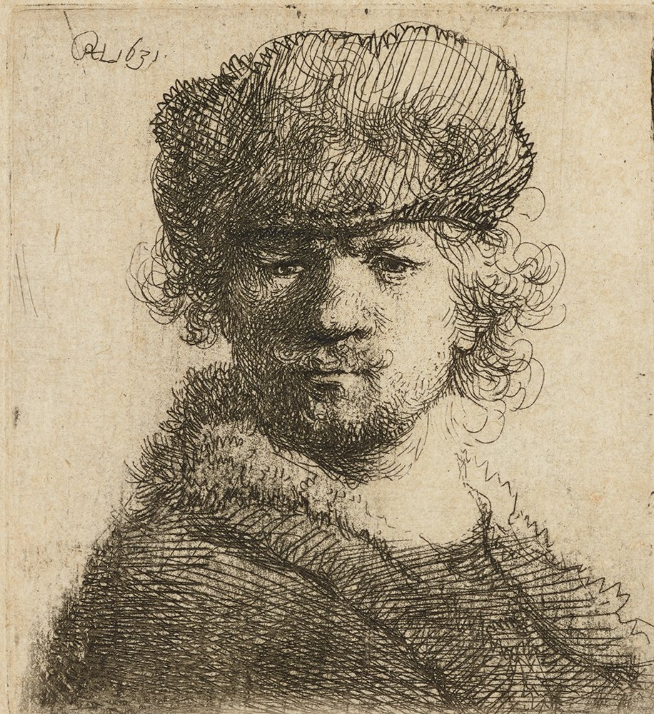 Happy birthday, Rembrandt! The dutch artist was born #onthisday in 1606. Rembrandt was known for his exceptional ability to render mood and emotion in his subjects, and made significant contributions to art with his use of light and shade. Self portrait by the artist, 1631 <br>http://pic.twitter.com/iebQZEyGKp