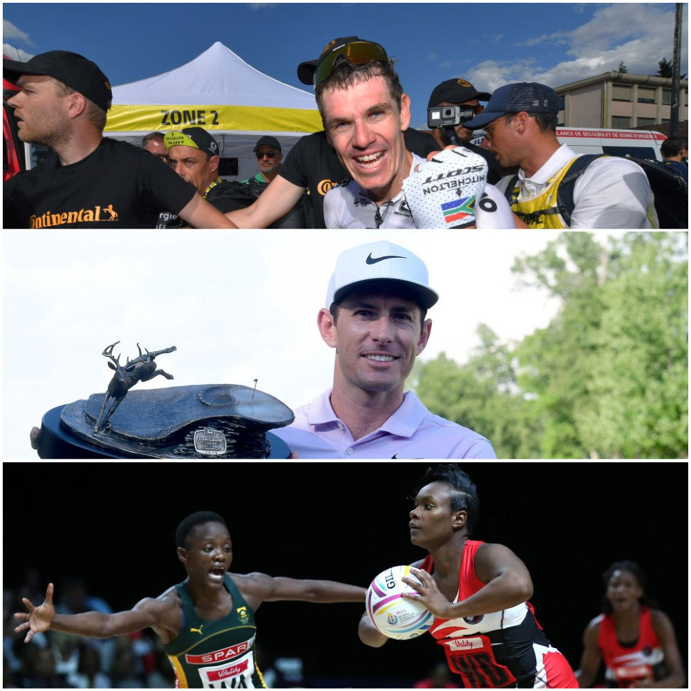 It was a great weekend for South African sport 🇿🇦 🚴♂️ Daryl Impey wins stage 9 of the #TDF2019 🏌️♂️ Dylan Frittelli won the John Deere Classic on Sunday 🤾♀️ #SPARProteas secure top spot in their #NWC2019 group.  Watch all the highlights on @DStv Catch Up > http://bit.ly/CatchUpSport