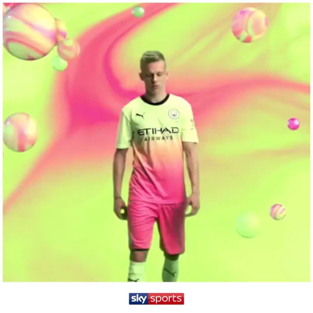 🍡 Man City have dropped their new third kit for the 2019/21 season...  The first word that comes to your head is ________