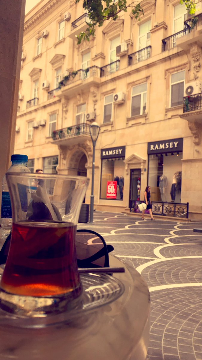 #باكو انا بديت اعشق هذه المدينة 😍 أفضل من #اسطنبول بكثير
