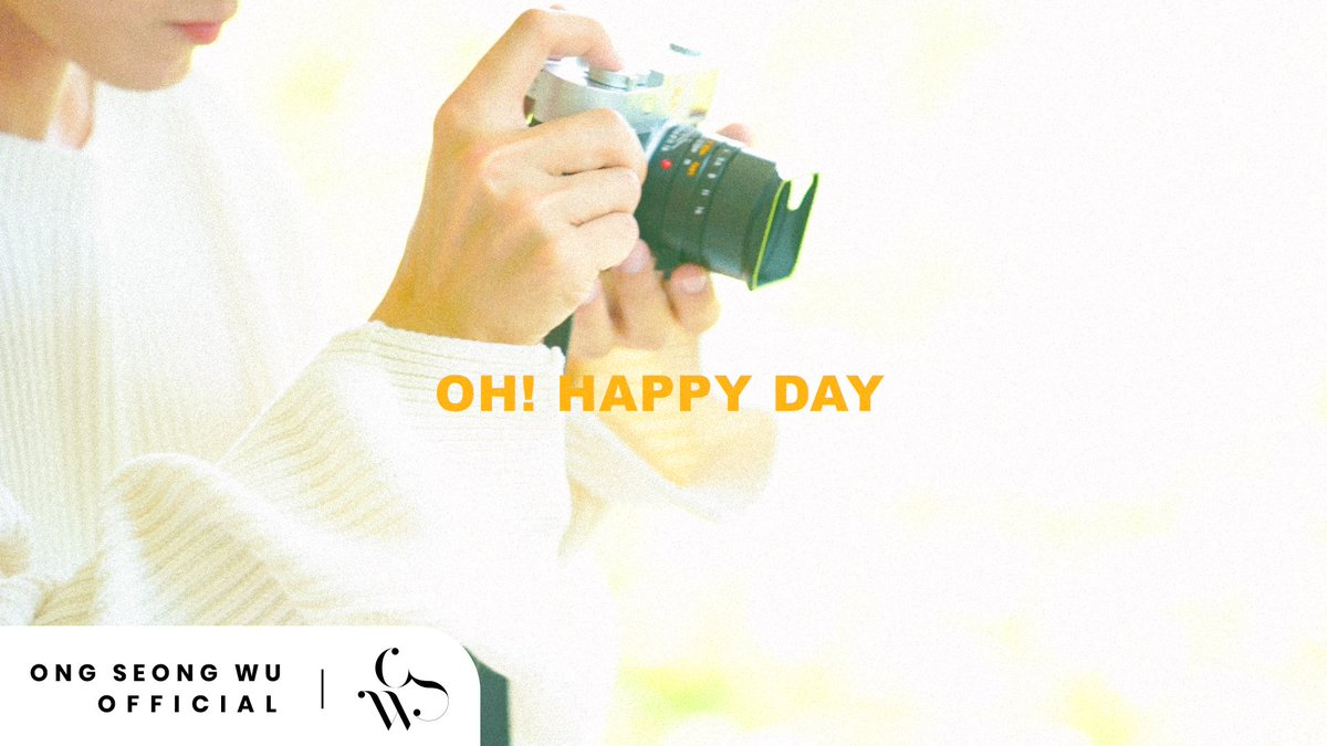 ONG SEONG WU 옹성우 - PHOTO EXHIBITION Oh! Happy Day Teaser #1 ▶ youtu.be/UdJdVGHw4TU #옹성우 #ONGSEONGWU #ONGSEONGWU_PHOTOEXHIBITION #Oh_Happy_Day
