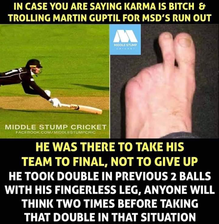 Lots of love to @Martyguptill   #ENGvNZ #NZvENG #CWC19Final<br>http://pic.twitter.com/GusH5gm3GX