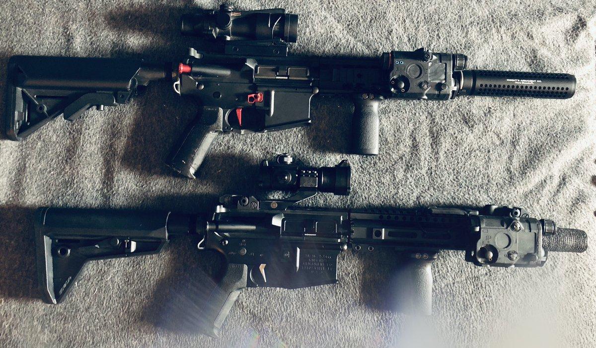 RT @AirsoftNrng: Mes 2 petites M4 full upgrade 😍🔫🔥👌🏼 #airsoft #airsoftgun #airsoftfrance #m4 #ar15 #réplique #nrng #nrngairsoft #répliqueAirsoft #upgrade #vfc #game #gameplay #6mm #titan