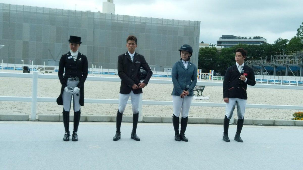 東京オリンピック・パラリンピック競技大会の馬術競技会場となる馬事公苑が工事を経てリニューアル(一部工事継続中)。地元の方を対象に馬術などが披露されました。馬術アンバサダーを務める小牧加矢太さん(父は小牧騎手)、パラ馬術選手として東京オリンピックを目指す高嶋活士元騎手らが駆けつけました