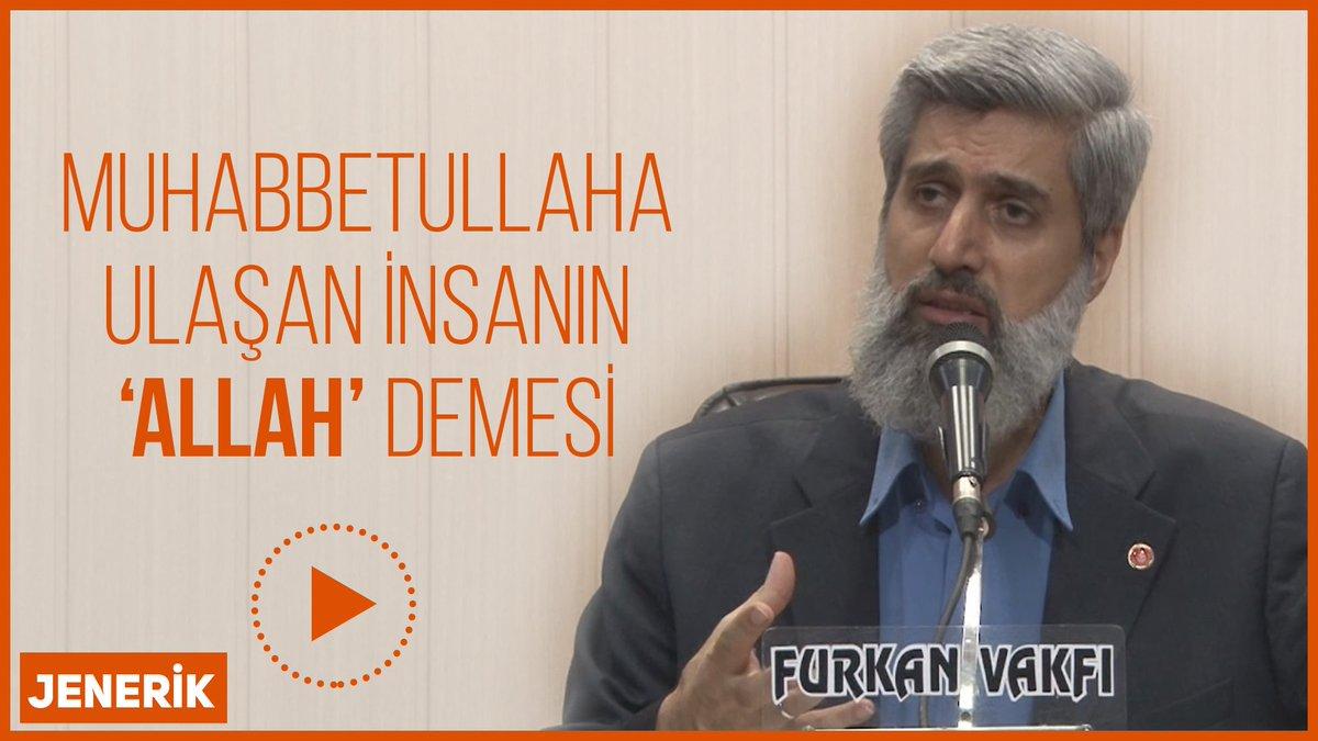 Jenerik | Muhabbetullaha ulaşan insanın 'Allah' demesi https://t.co/xLPPc6QMW4