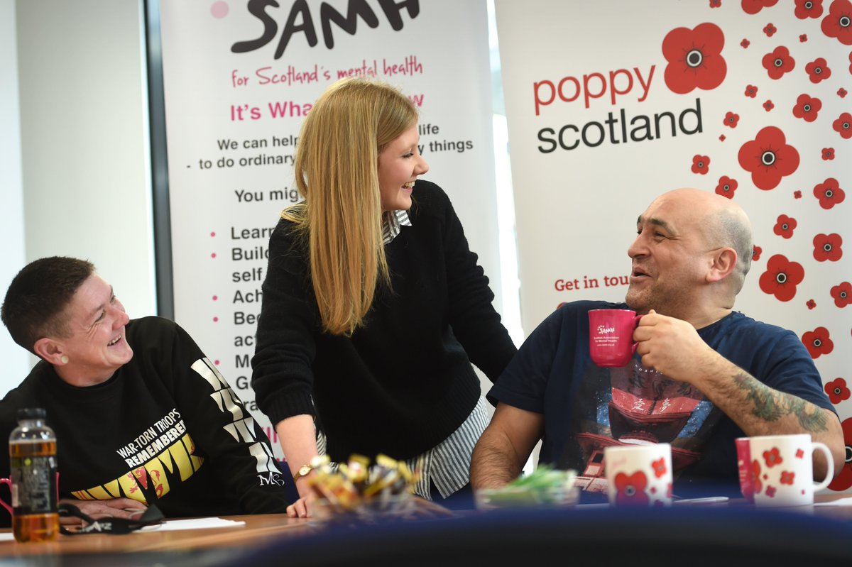 Are you a veteran who's looking for work but struggling with depression or anxiety? Our Employ-Able service, delivered by SAMH Employment Advisers, could help. Give us a call on 0131 550 1557 or e-mail at gethelp@poppyscotland.org to find out more.