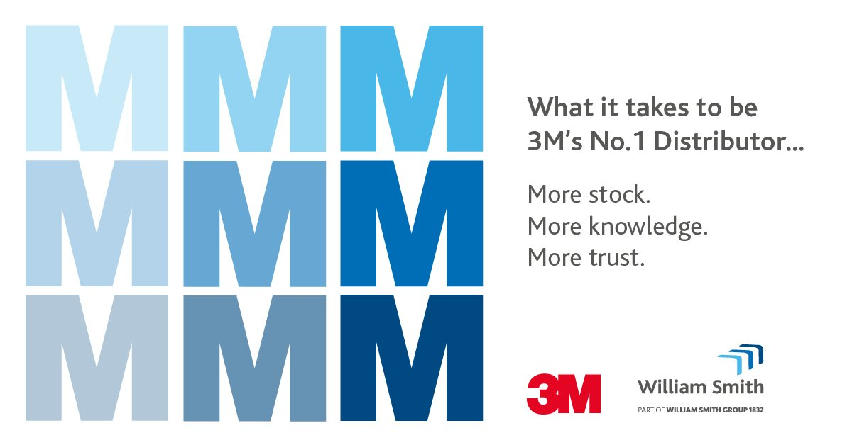 More of everything, it's what makes us @3MFilmsUK 's number 1 distributor. Read more online at https://bit.ly/32udSYE  #MMM #3M #WilliamSmith #Vinyl #Signsandgraphics