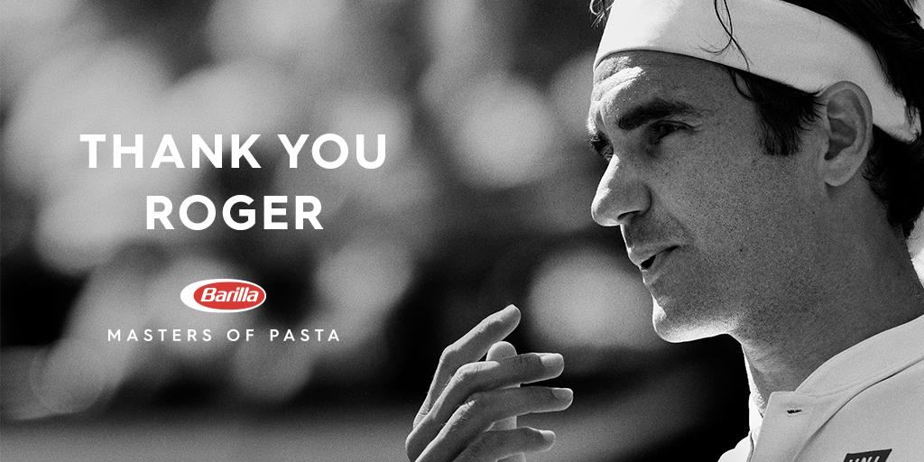 We are blessed for having witnessed such mastery. We exulted, we shouted, we cried. Grazie! #wimbledon @rogerfederer